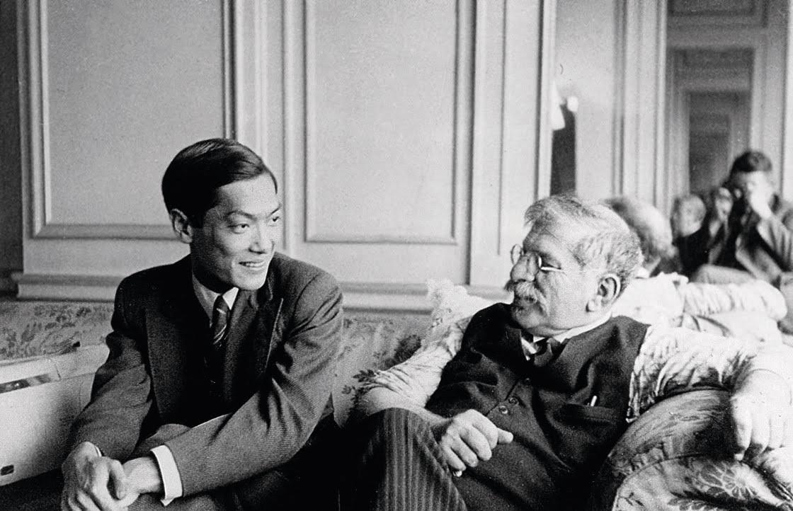 Magnus Hirshfeld (à direita)