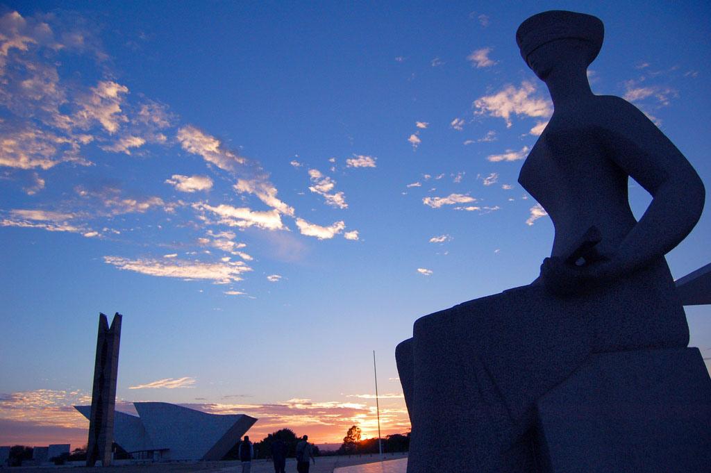 Crédito: Ana Volpe/JS Data: 19/11/2008 Local: Brasília-DFPraça dos Três Poderes.