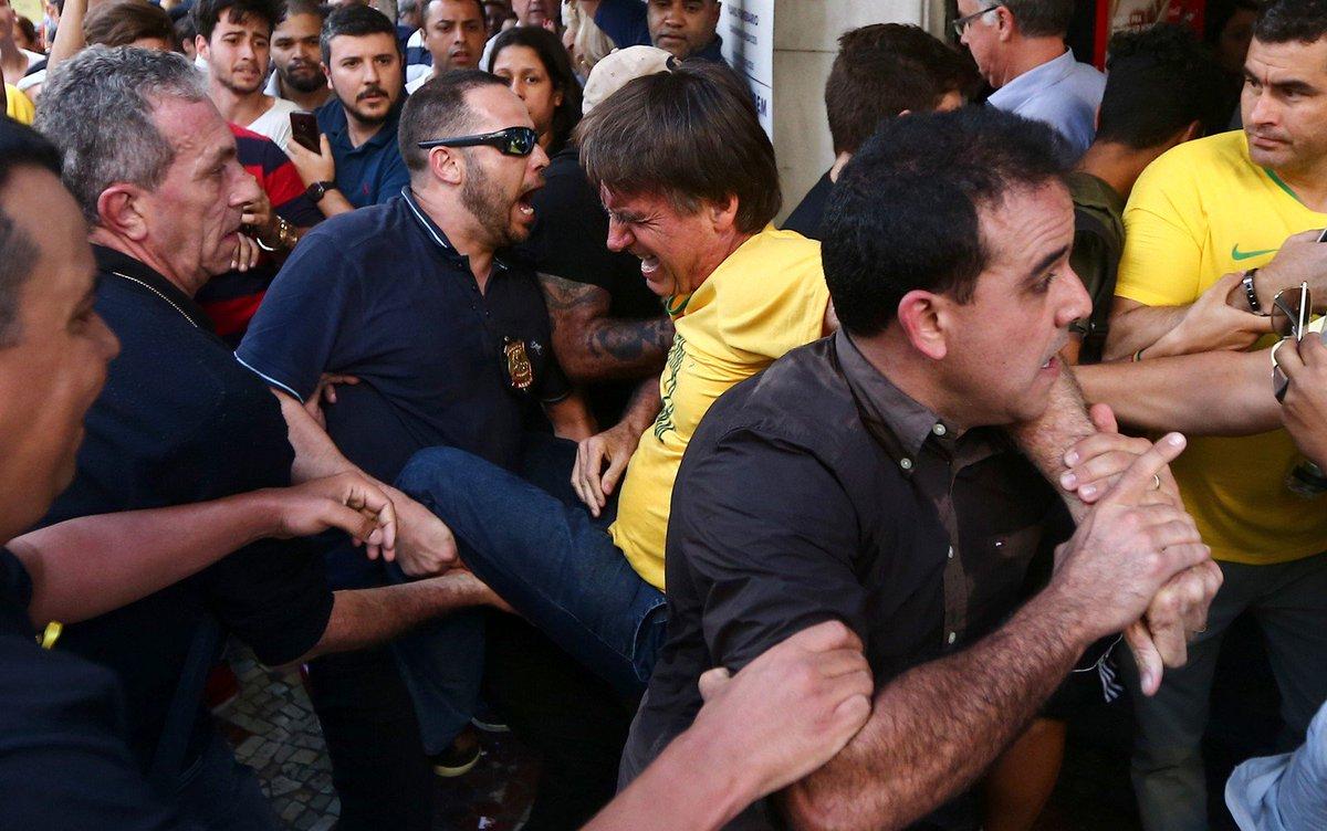 Atentado contra Bolsonaro em 6 de setembro de 2018