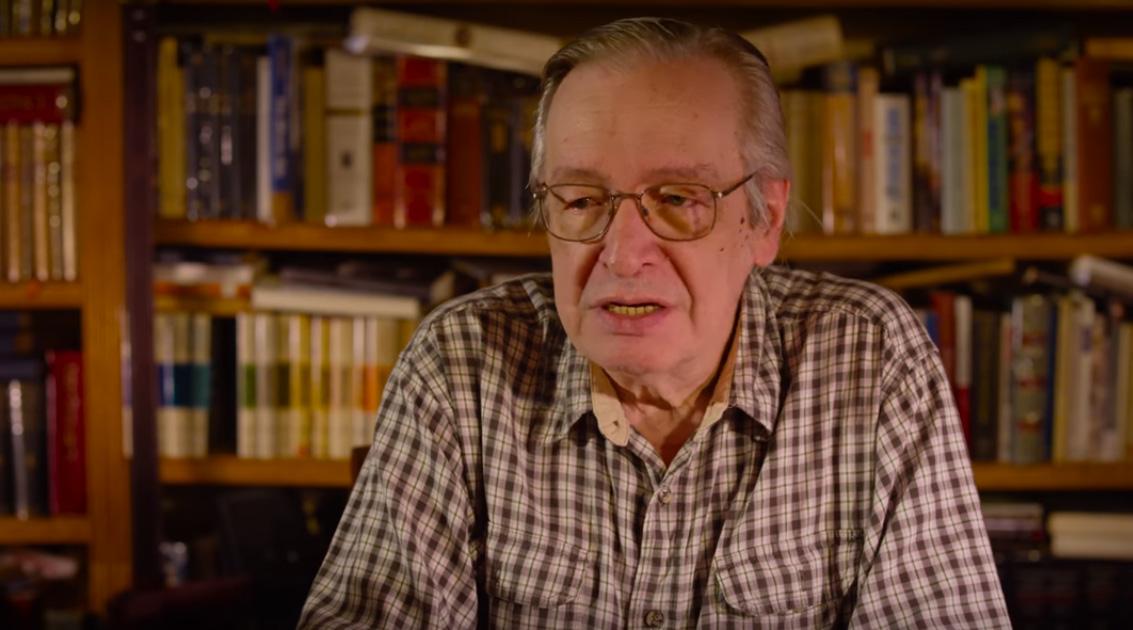Captura do filme Jardim das Aflições, de Josias Teófilo