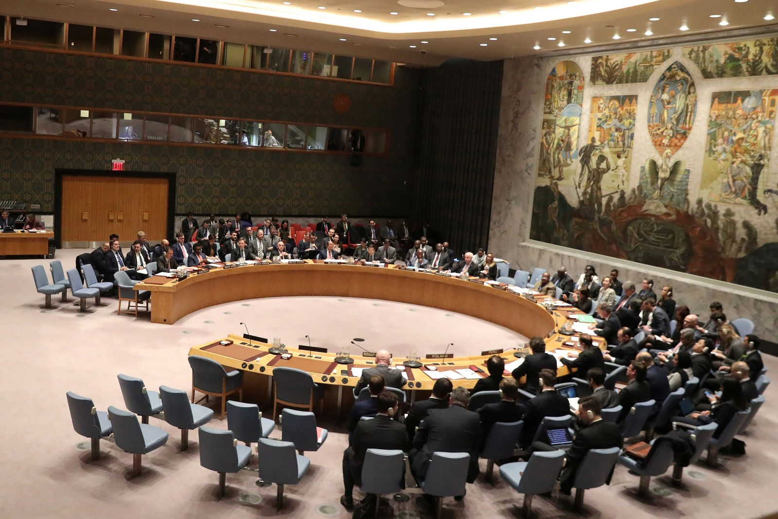 Reunião do Conselho de Segurança da ONU - Foto: Shannon Stapleton/Reuters