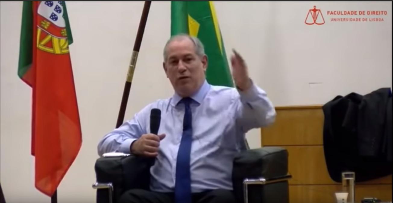 Ciro Gomes na Universidade de Lisboa