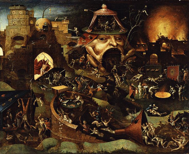 O lumpemproletariado não é a burguesia nem o proletariado. É uma espécie de limbo. (Cristo no Limbo. Óleo de Hieronymus Bosch).
