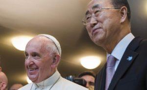 Globalistas da ONU marcam presença no Sínodo da Amazônia