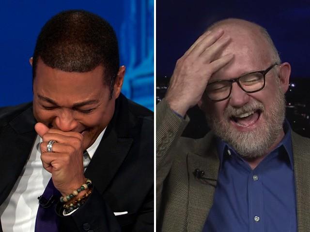 CNN (Rick Wilson à direita)
