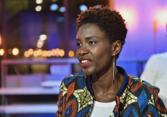 Rokhaya Diallo. (Photo © IBO/SIPA)