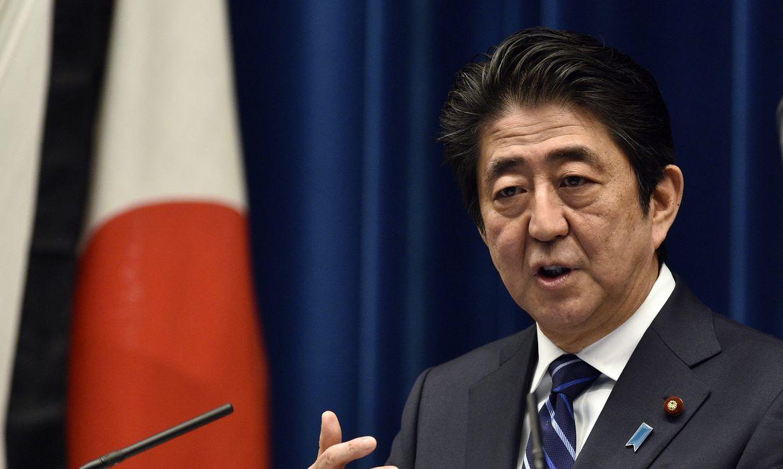 Primeiro-ministro do Japão, Shinzo Abe/Imagem-Agência Brasil