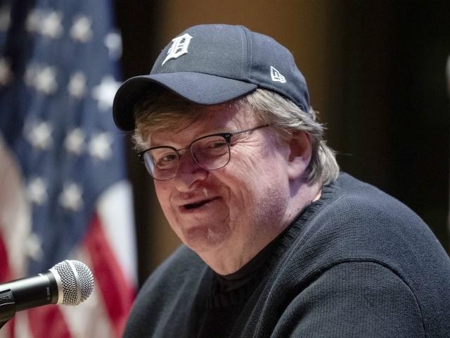Michael Moore. (Photo/Matt Rourke)