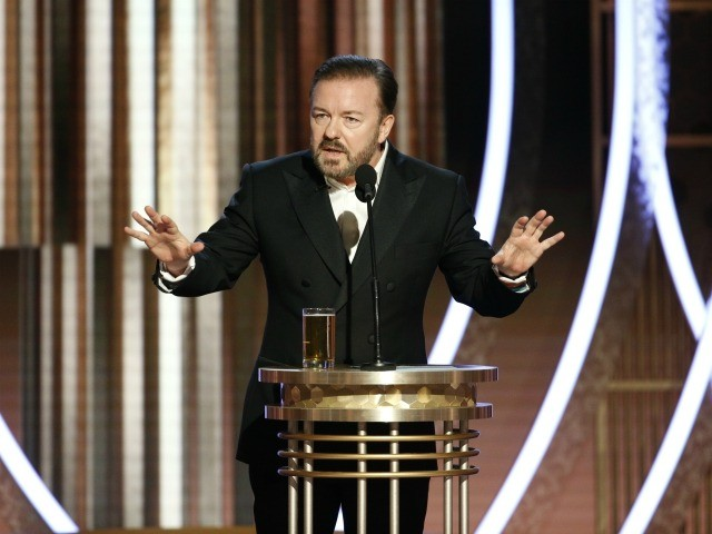 Ricky Gervais. (Paul Drinkwater/NBCUniversal Media)