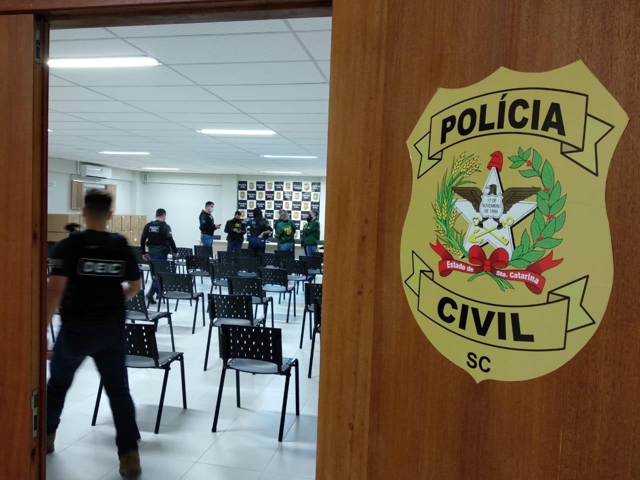 Foto: Polícia Civil SC