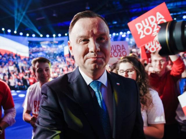 Andrzej Duda, atual presidente polonês e candidato à reeleição (Omar Marques/Getty Images)