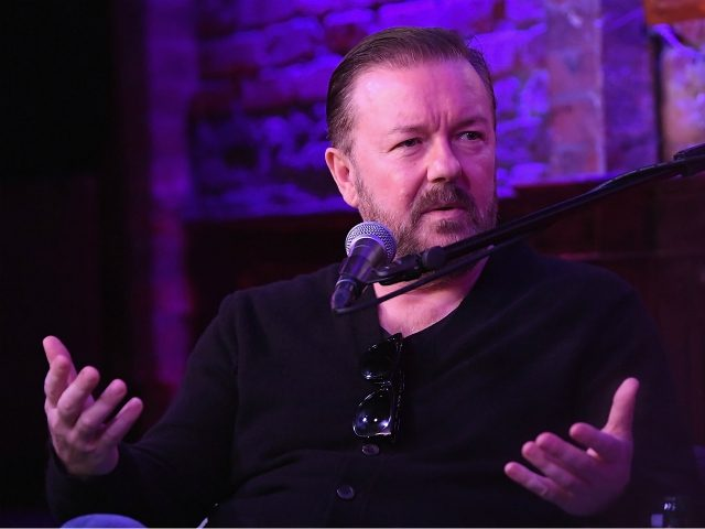 Ricky Gervais (Dimitrios Kambouris/Getty Images for SiriusXM)