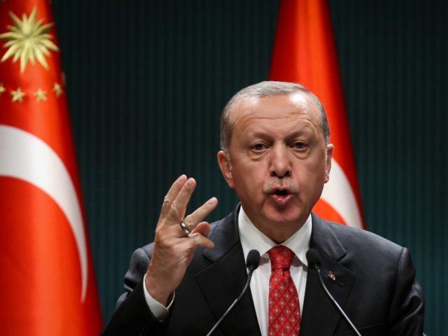 Presidente da Turquia, Erdogan (ADEM ALTAN/via Getty)