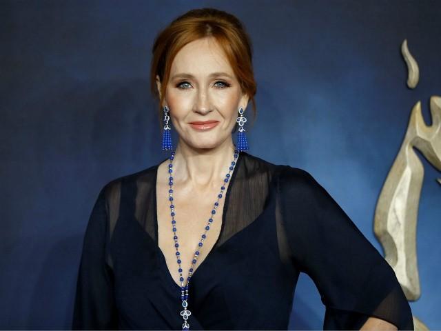 J.K. Rowling (TOLGA AKMEN/via Getty Images)