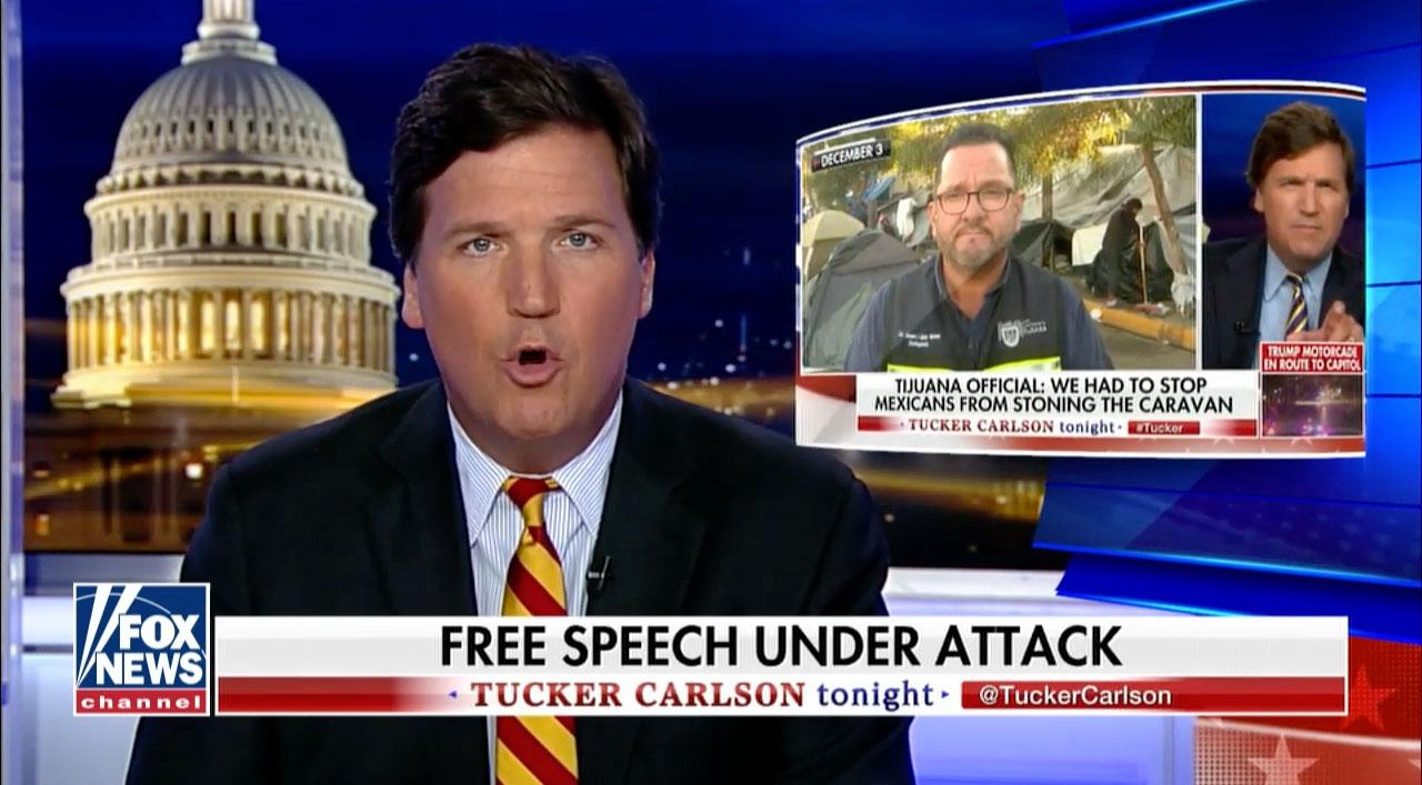 Apresentador Tucker Carlson (Screenshot: Fox News/YouTube)