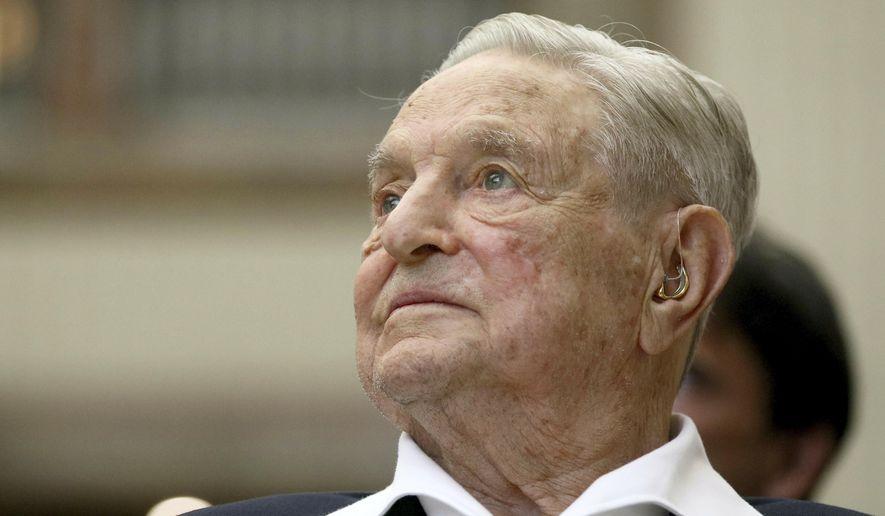 George Soros (Photo/Ronald Zak, File)