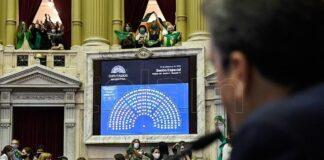 Com mentiras abortistas avançam na Câmara de Deputados na Argentina