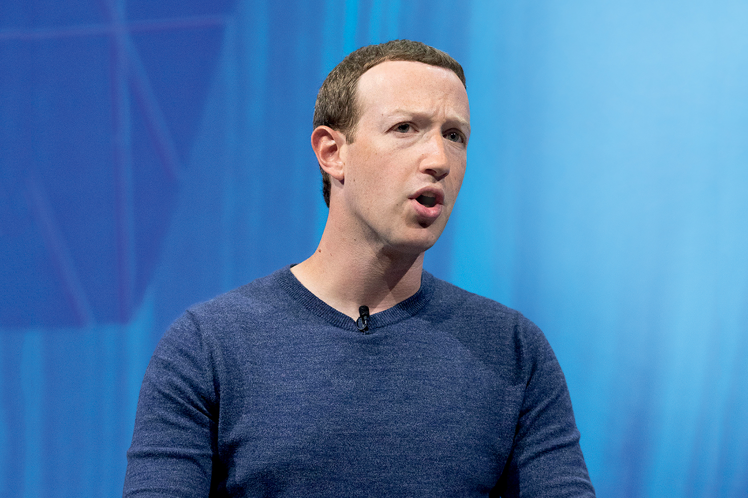 962130610 - Mark Zuckerberg, chief executive officer and founder of Facebook Inc. attends the Viva Tech start-up and technology gathering at Parc des Expositions Porte de Versailles on May 24, 2018 in Paris, France. The VivaTech exhibition in Paris brings together nearly 1800 start ups alongside the largest international groups. Credito: Christophe Morin/IP3/Getty Images
